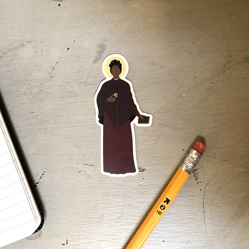 St. Josephine Bakhita Sticker