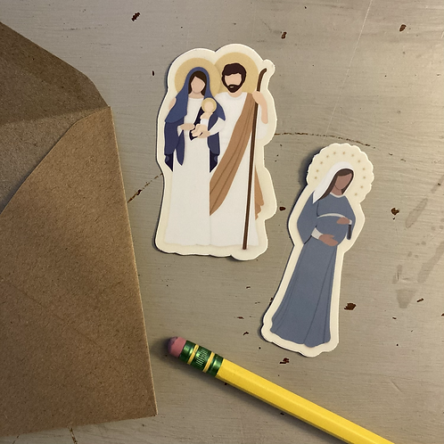 Holy Family Sticker Bundle
