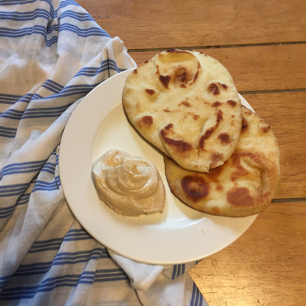 Celebrating Mother Teresa's Feast Day with homemade naan bread