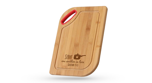 Serve One Another | Cutting Board