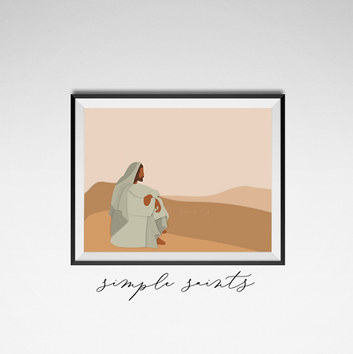 Jesus in the Desert
