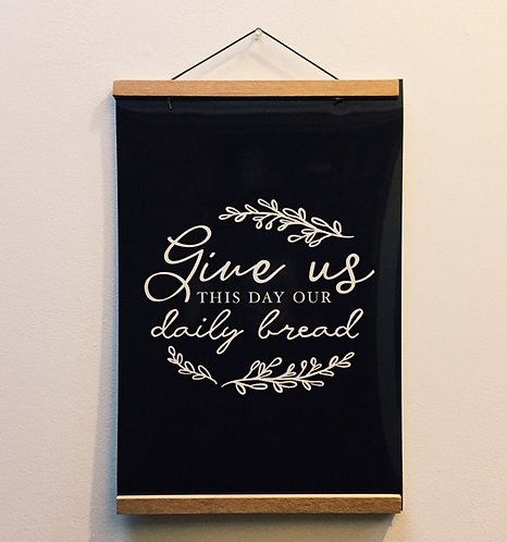 Daily Bread Poster