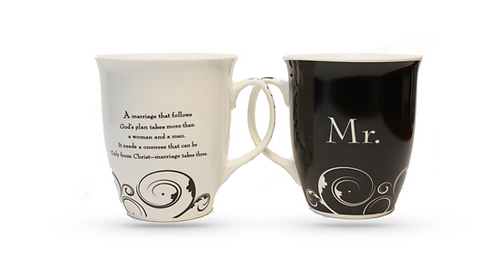 Large Mr & Mrs Mugs