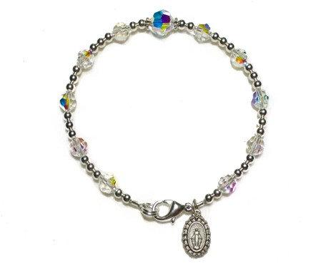 Full Swarovski Crystal Decade Bracelet