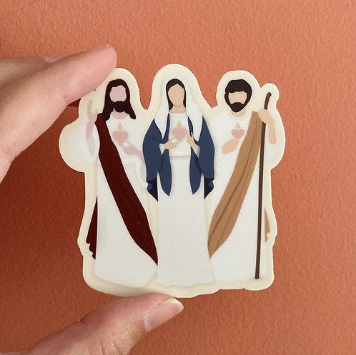 Three Hearts - Jesus, Mary and Joseph