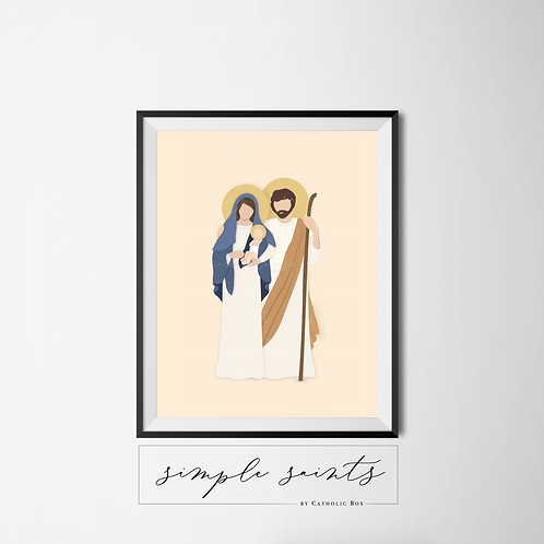 Holy Family - Physical Print