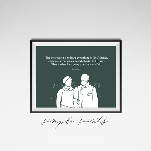Louis and Zelie Quote