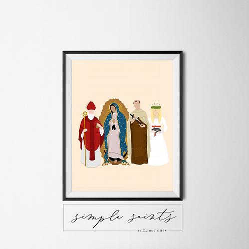 December Saints - Physical Print