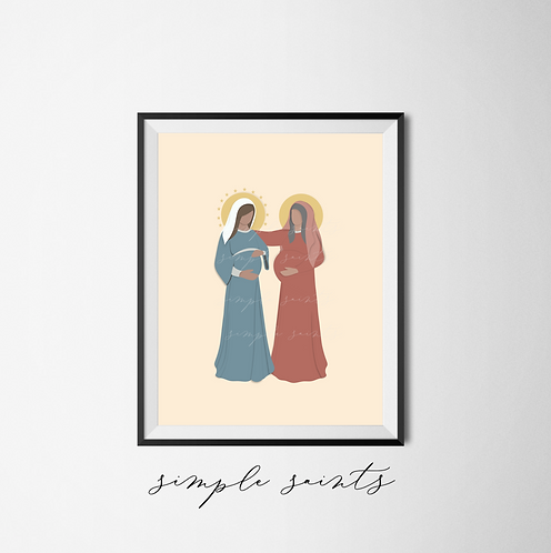 The Visitation - Mary and Elizabeth