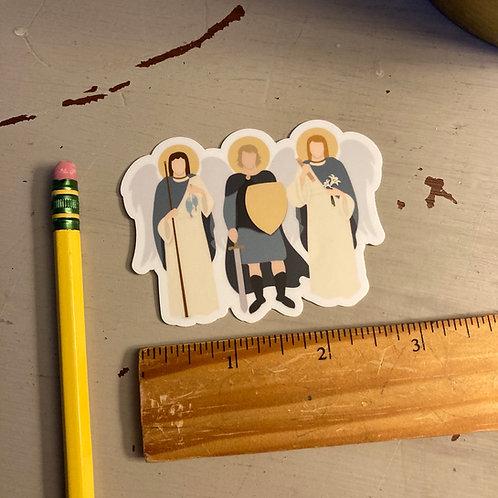 The Archangels Sticker