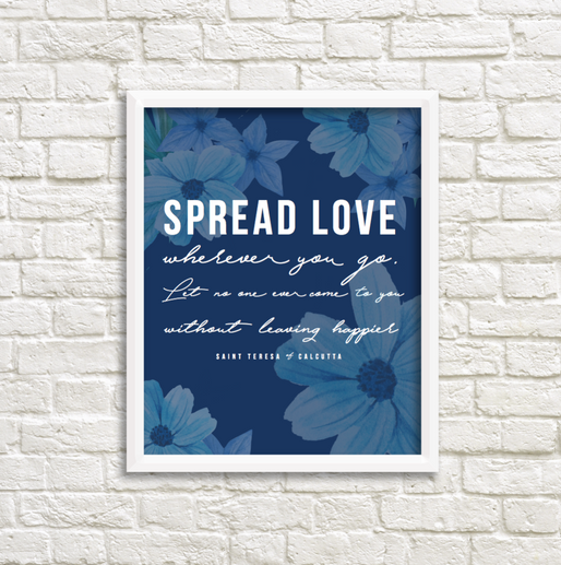September 2016 Print: St. Teresa of Calcutta