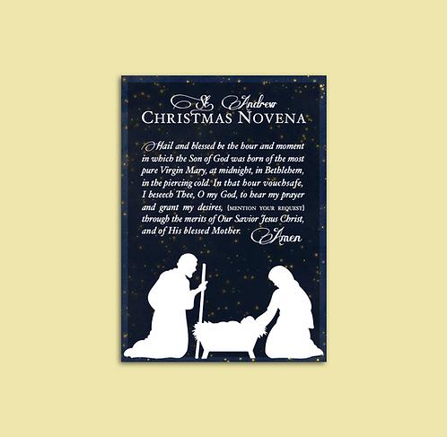 St. Andrew Christmas Novena Printable