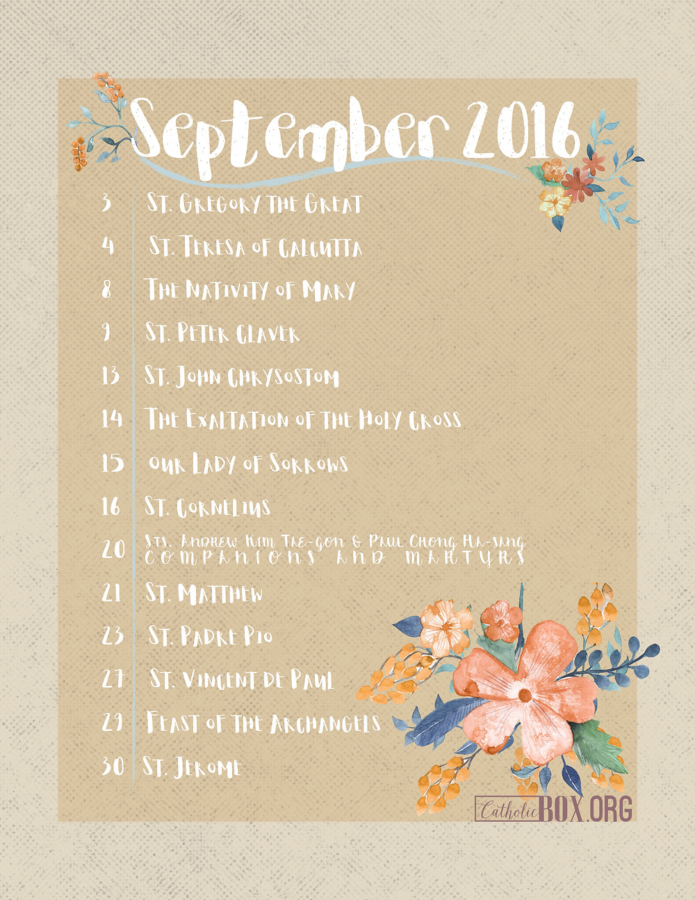 Click to download your Calendar