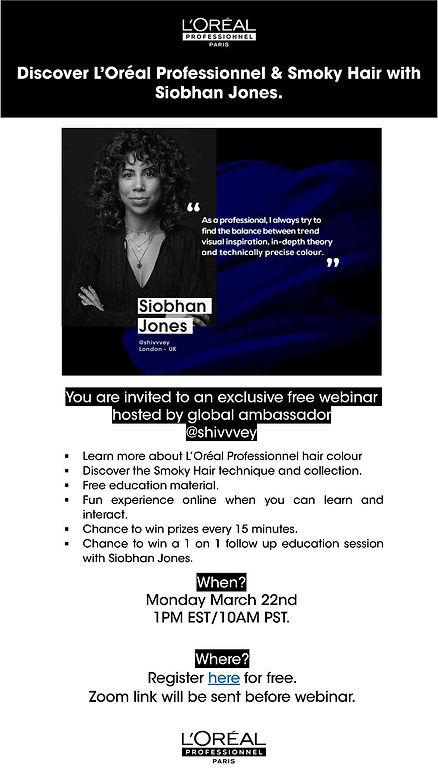 Invitation - Discover L'Oréal Professio