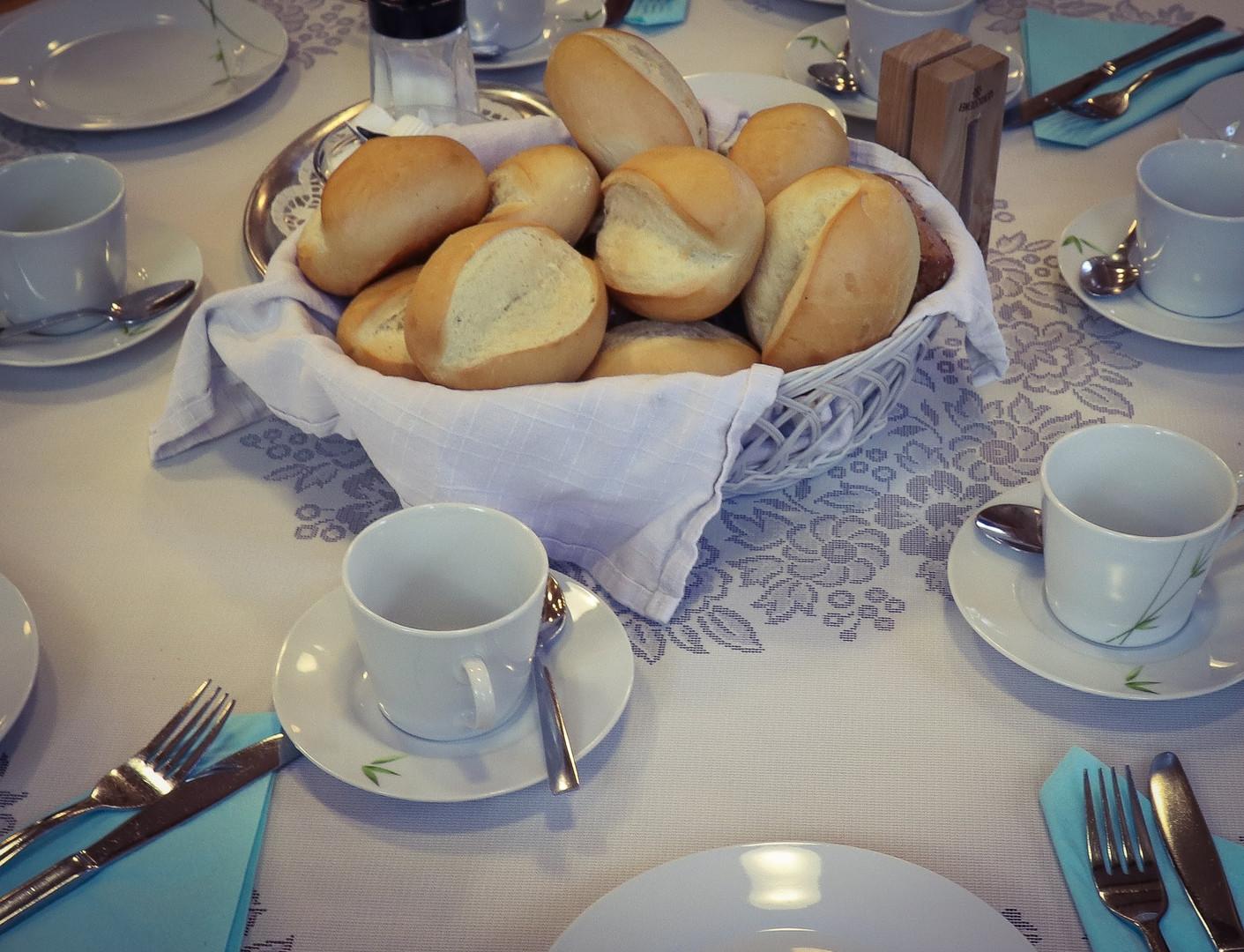 Leckeres Frühstück vom Chef persönlich zubereitet