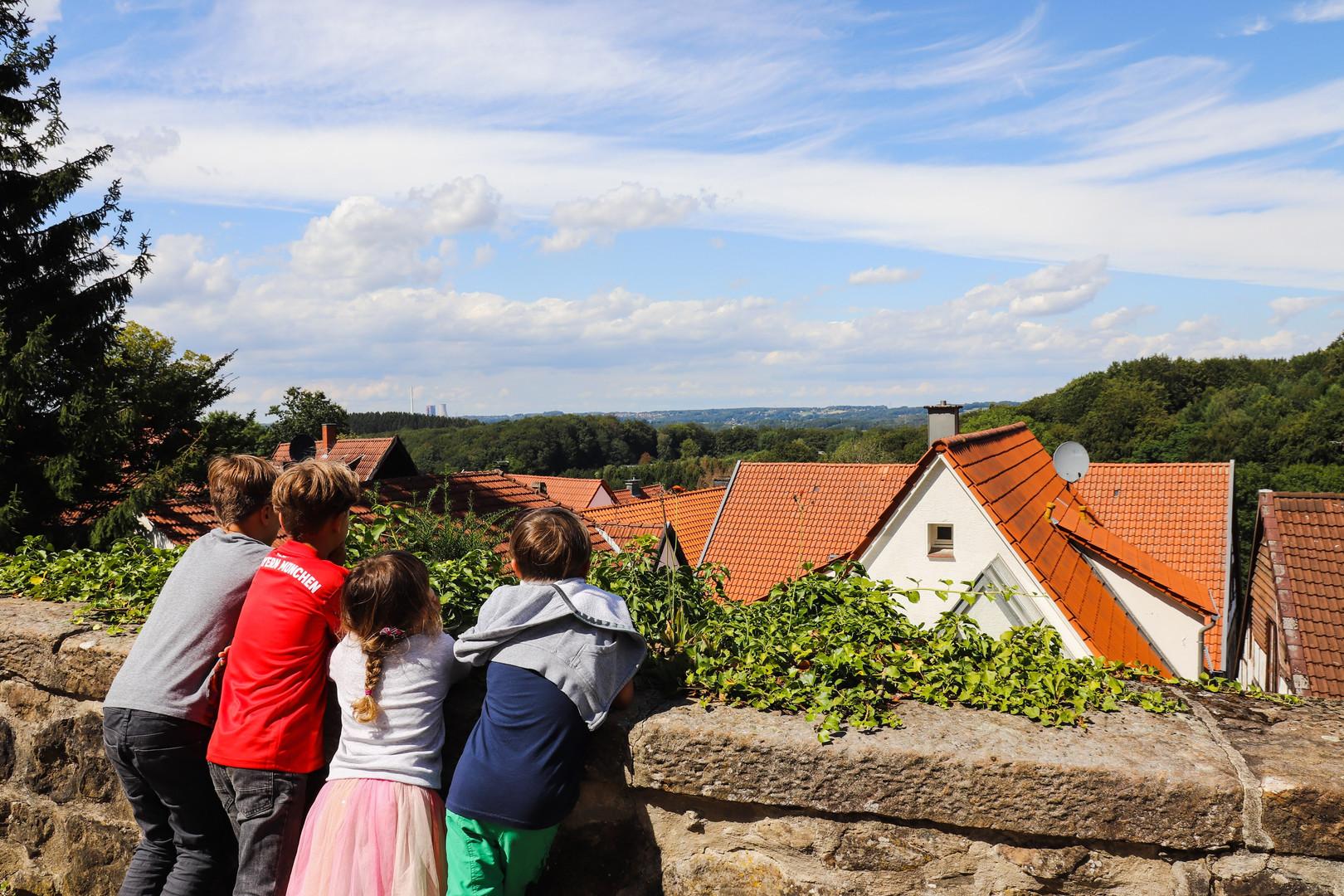 Tolle Ausblicke über das Tecklenburger Land