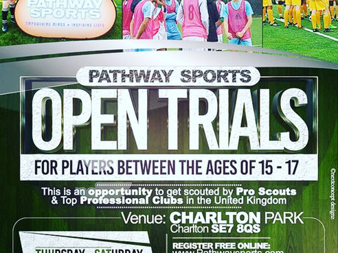 2017 Open Trials & Showcase Games vs Academies