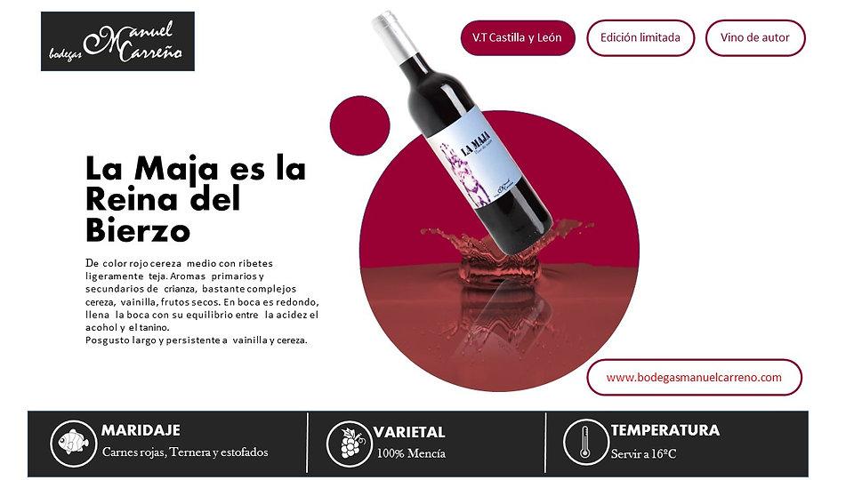 Bodegas Manuel Carreño | Vino Tinto | La Maja