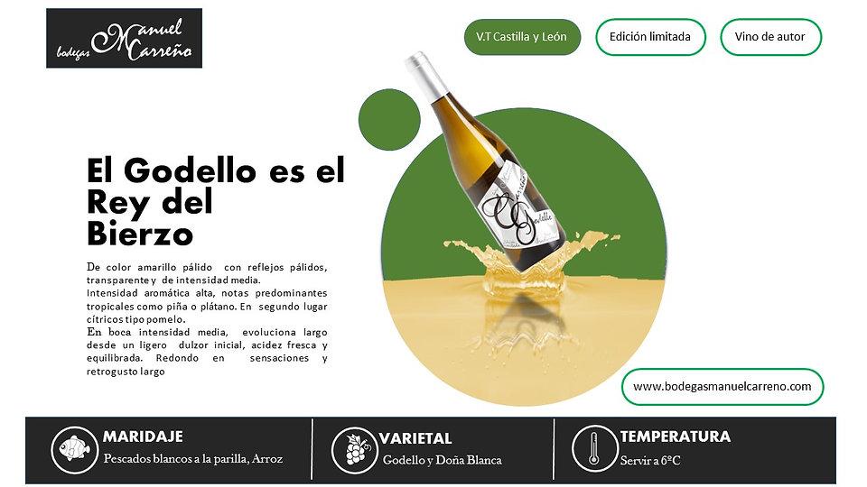 Bodegas Manuel Carreño | Vino Blanco | Carreño Godello