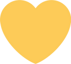 512-5127091_yellow-heart-sticker-by-twit