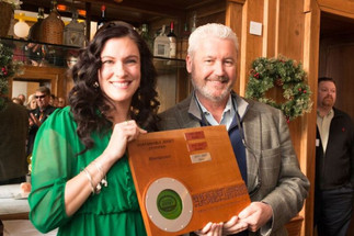 Sustainable Morristown Honors Mayor Dougherty at Green Drinks Event