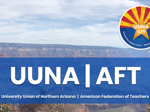 UUNA's Statement on the Future of NAU: Presidential Search