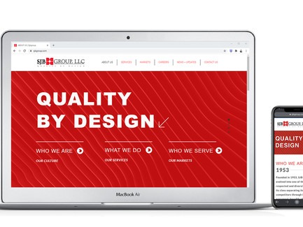 SJB Group launches new website!