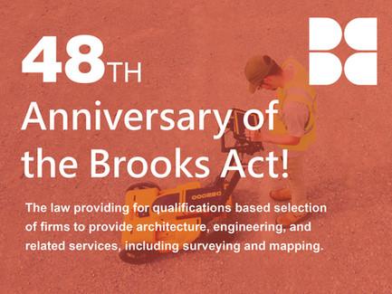 """Brooks Act  of 1972"""