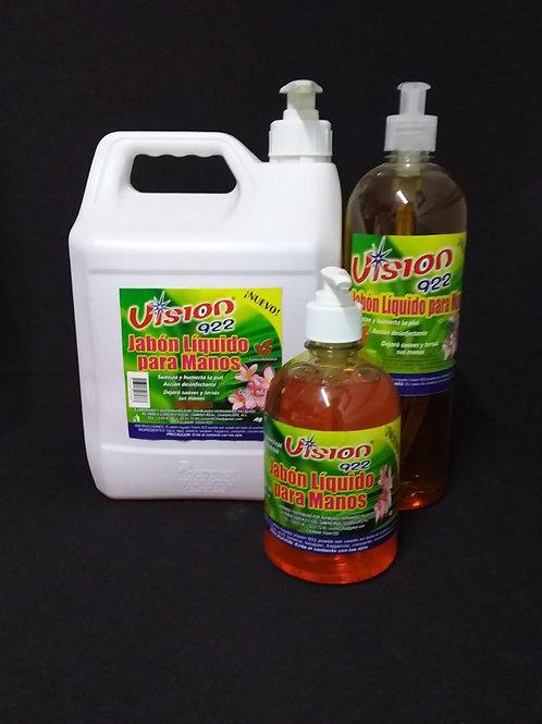 Jabón líquido para manos (ALMENDRA)