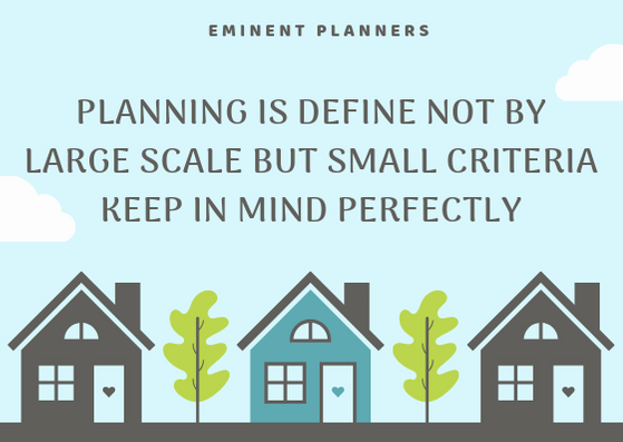 PLANNING IS DEFINE NOT BY LARGE SCALE BU
