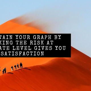 Maintain your Graph by taking the Risk a