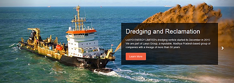 Laxyo Group of Dredging Companies in India Offering Dredger on Rent