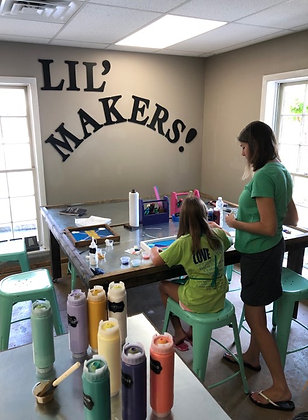 LIL' MAKERS SUMMER CAMP