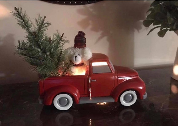 Vintage Ceramic Christmas Truck