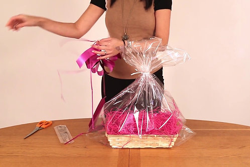 Gift Basket Wrapping Service