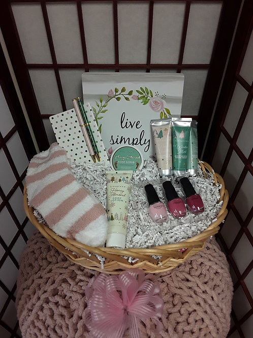 Live Simply Gift Basket