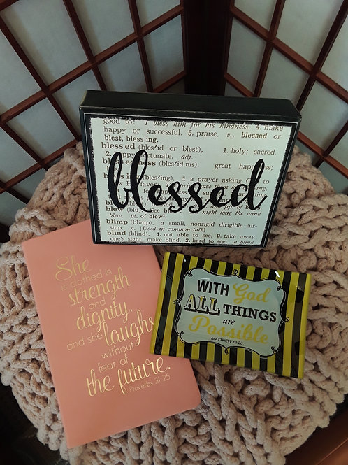 Be Blessed Gift Bundle