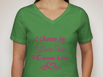 I Choose Joy, Peace, Love