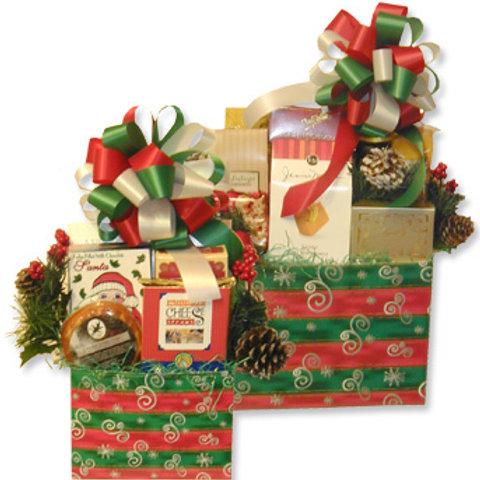 Holiday Mini Gift Basket Bundle - 4 Pack