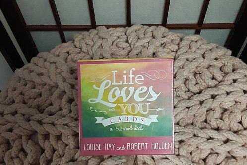Life Loves You Affirmation Cards