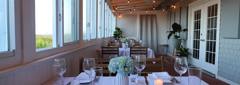 Ocean-front restaurant, Summer Salt by Chef Connor Dore on Avalon Boardwalk