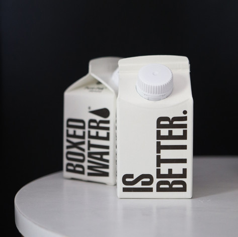 The Hugh eco-friendly Boxed Water