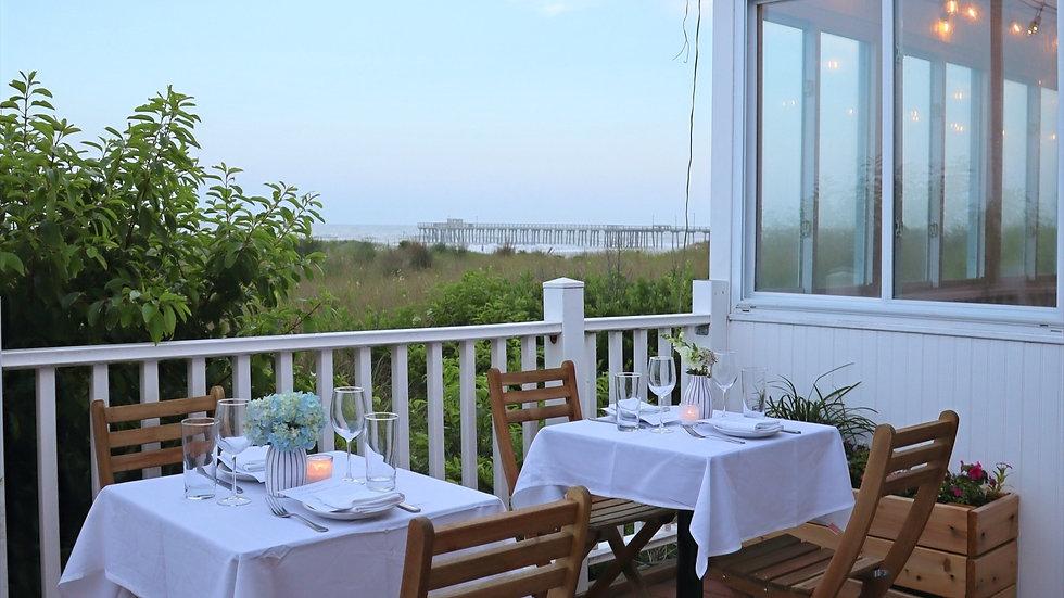 Summer Salt ocean-front restaurant, market, eatery in Avalon