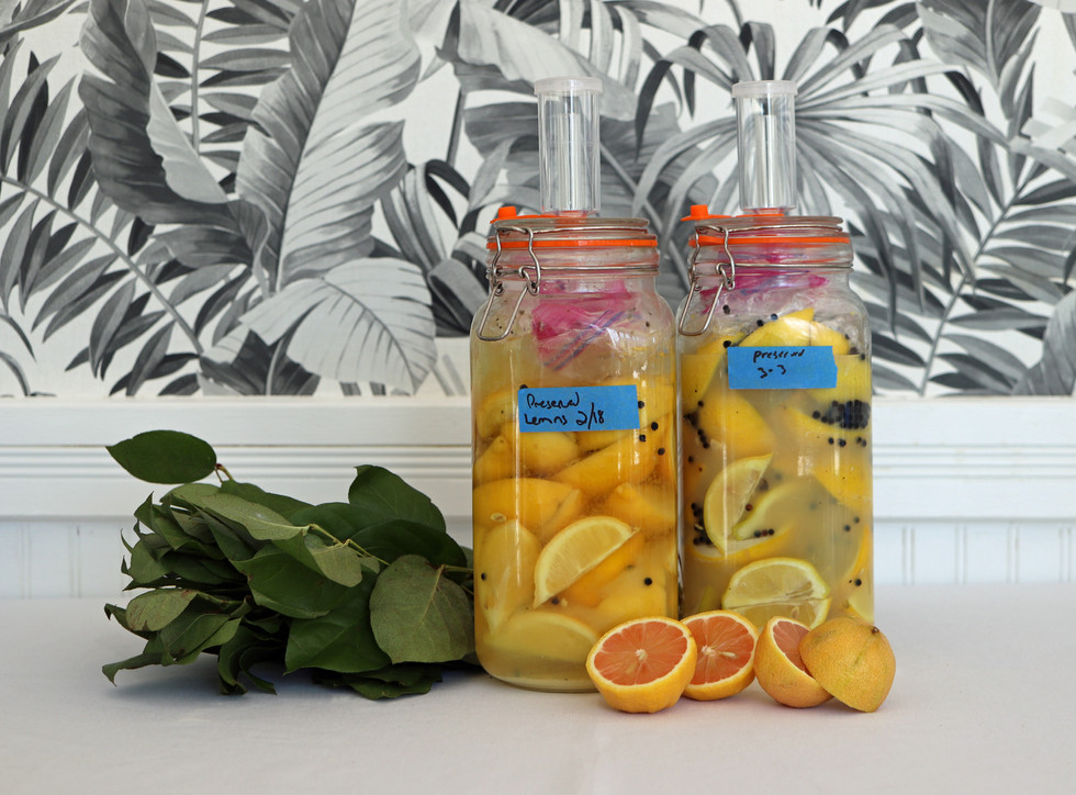 Preserved Lemons, Jardin at The Hugh