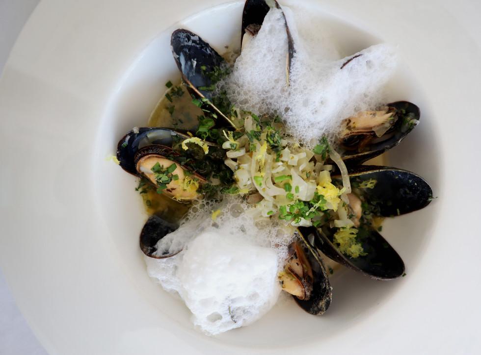 Mussels, Jardin at The Hugh