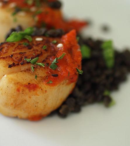 Matthews Seafood Market Restaurant fresh scallops