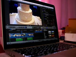 Editing Tim & Diana's NH Wedding Video!