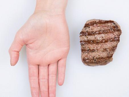 Cách đo calories trong khẩu phần ăn chỉ bằng bàn tay (để giảm cân)