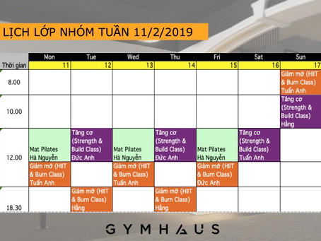 Ra mắt 2 lớp nhóm với format hoàn toàn mới tuần 11/2 - 17/2/2019