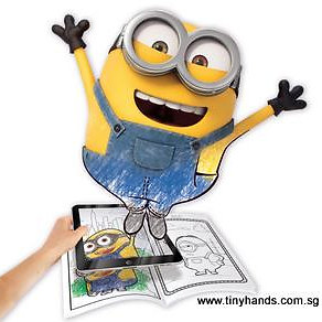 crayola color alive animated minions pages - Crayola Color Alive Pages Minions